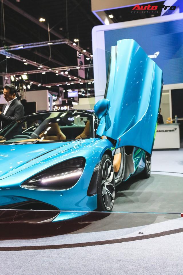 McLaren 720S Spider ra mắt Thái Lan - Đại gia Việt nào sẽ rước về garage? - Ảnh 6.