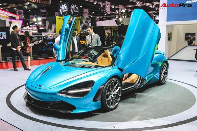 McLaren 720S Spider ra mắt Thái Lan - Đại gia Việt nào sẽ rước về garage? - Ảnh 2.