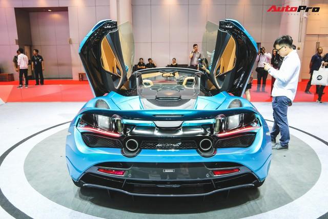 McLaren 720S Spider ra mắt Thái Lan - Đại gia Việt nào sẽ rước về garage? - Ảnh 8.