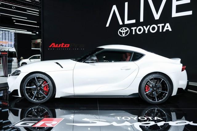 Toyota Supra trình diện triển lãm Bangkok 2019 bằng tông trắng lịch lãm - Ảnh 3.
