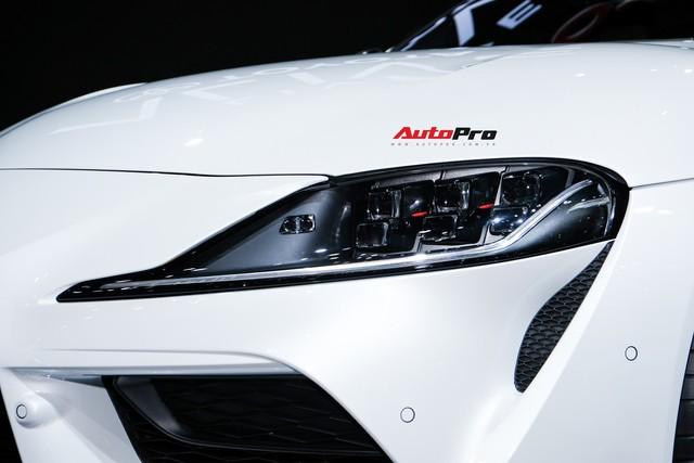 Toyota Supra trình diện triển lãm Bangkok 2019 bằng tông trắng lịch lãm - Ảnh 6.