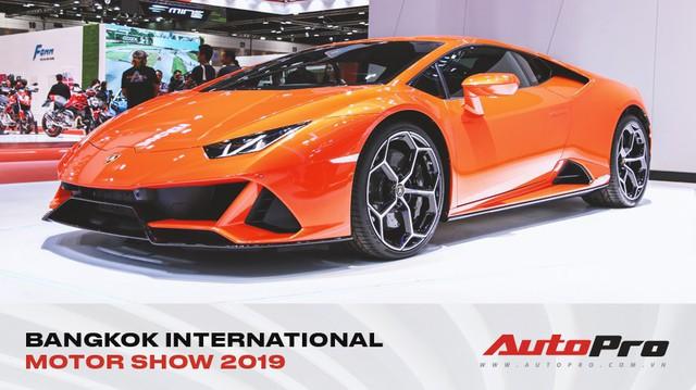 Lamborghini Huracan Evo khoe dáng Thái Lan, thu hút đại gia Việt