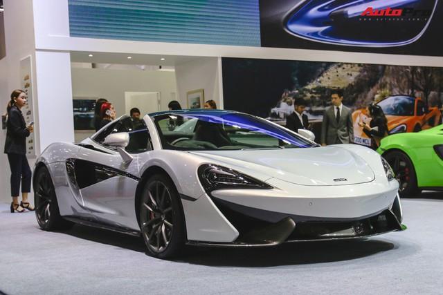 Không chỉ 720S Spider, McLaren còn mang tới chiếc siêu xe mui trần này - Ảnh 1.