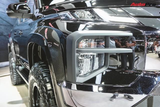 Cận cảnh Mitsubishi Triton Absolute Concept đối đầu Ford Ranger Raptor - Ảnh 5.