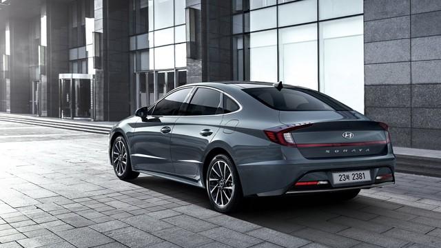 Hyundai Sonata thế hệ mới chốt thông số động cơ, khách hàng Việt Nam cần biết