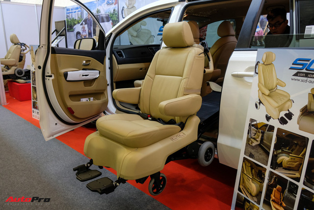 Trải nghiệm ghế độ lên xuống ô tô, di chuyển bằng điện, giá hơn 225 triệu đồng - Ảnh 3.