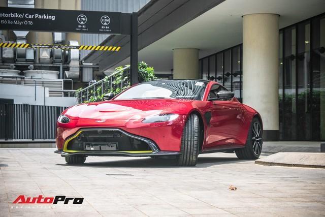 Aston Martin V8 Vantage 2019 chính hãng thứ hai tại Việt Nam về đại lý: Liệu đại gia Việt nào sẽ xuống tiền? - Ảnh 3.