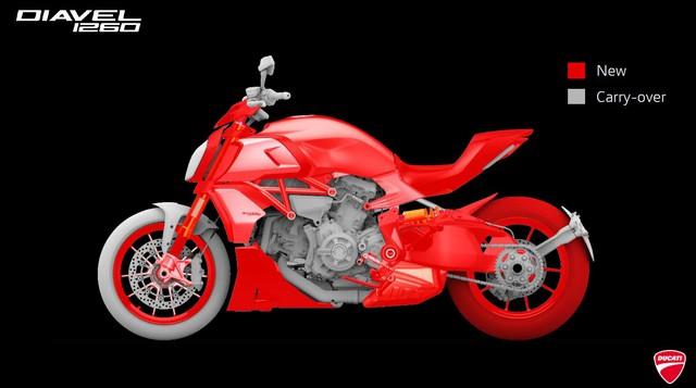 Mang thiết kế dị biệt, Ducati Diavel 1260 giành giải xuất sắc năm 2019 - Ảnh 2.