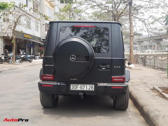 Bắt gặp Mercedes-AMG G63 Edition 1 đời mới đầu tiên Hà Nội ra biển số xuống phố dịp cuối tuần - Ảnh 7.