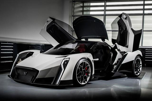 Nhà thiết kế huyền thoại McLaren F1 đặt bút sáng tạo siêu phẩm hoàn toàn mới - Ảnh 1.