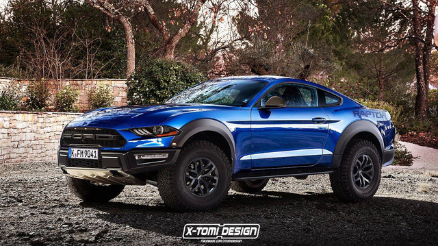 Ford đang phát triển SUV Mustang khung gầm Explorer mang thiết kế BMW X4