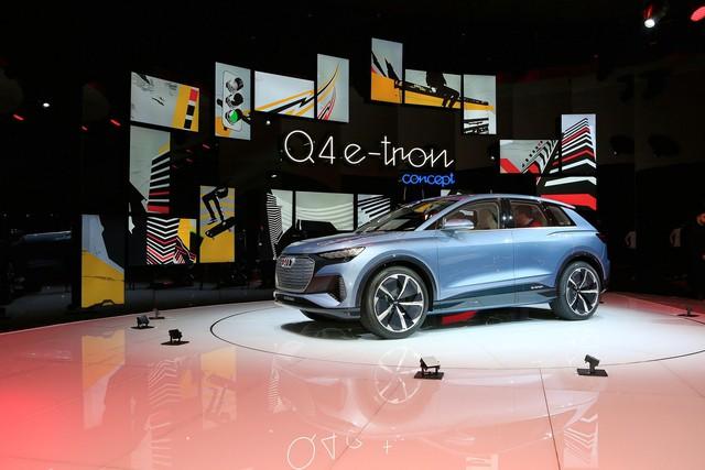 Trình diện Audi Q4 e-tron - SUV chủ lực hoàn toàn mới của Audi - Ảnh 1.
