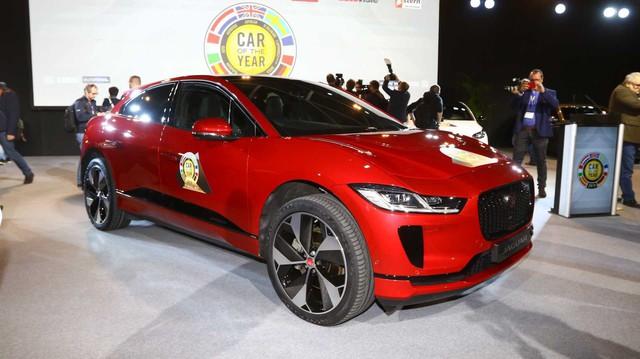 Vượt qua Ford Focus, Jaguar I-Pace giật giải 'Xe của năm 2019'