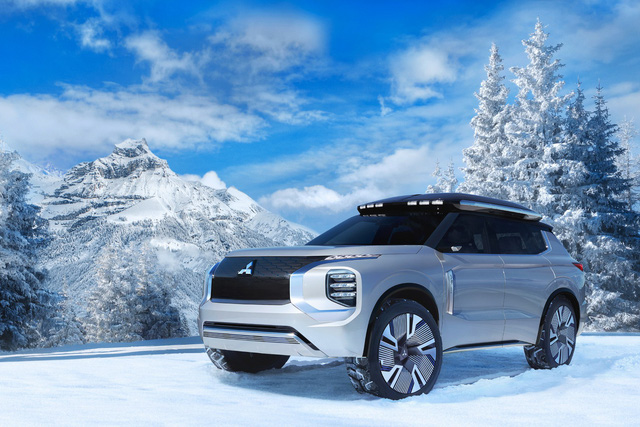 Mitsubishi Engelberg Concept: Outlander tới từ tương lai - Ảnh 1.
