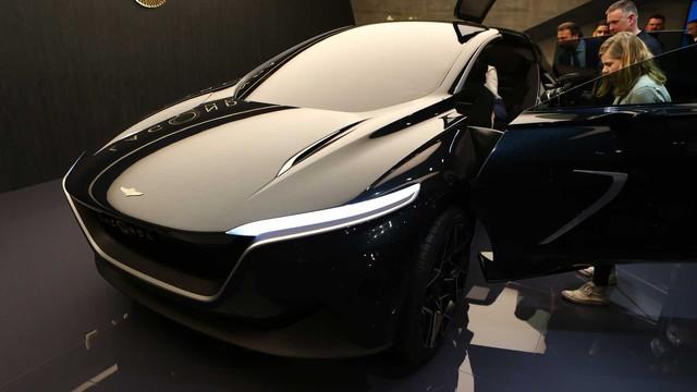 Aston Martin trình làng Lagonda All-Terrain Concept - tương lai của SUV hạng sang - Ảnh 2.