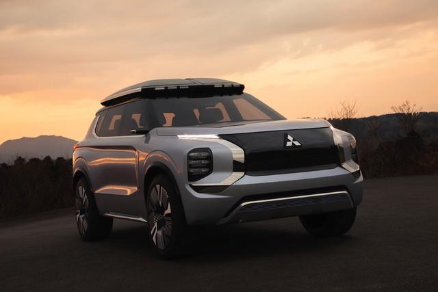 Mitsubishi Engelberg Concept: Outlander tới từ tương lai - Ảnh 3.