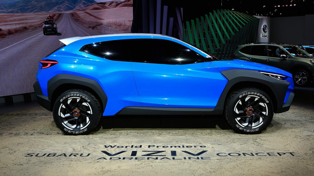 Subaru Viziv Adrenaline Concept: Khởi đầu hướng đi mới để dành khách phổ thông