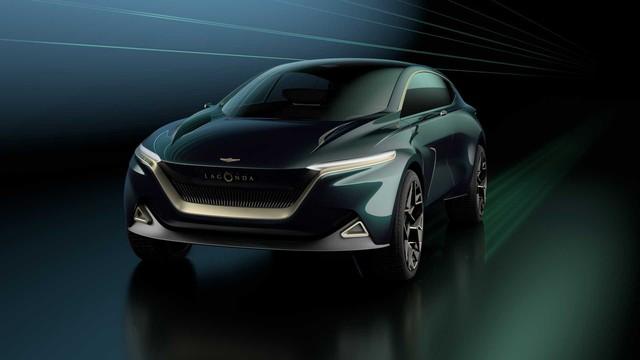 Aston Martin trình làng Lagonda All-Terrain Concept - tương lai của SUV hạng sang - Ảnh 1.