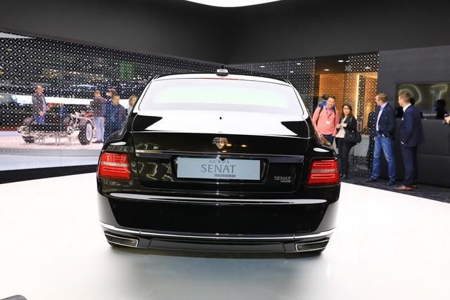 Aurus - Thương hiệu chế tạo limousine cho tổng thống Nga ra mắt trời Âu, Rolls-Royce hay Bentley cũng phải dè chừng - Ảnh 3.