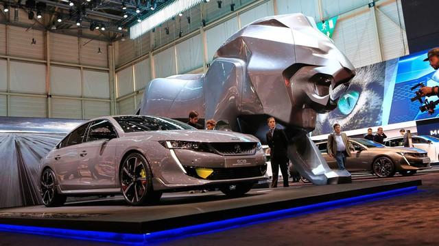 Peugeot bật đèn xanh cho 508 Sport Engineered đọ sức Toyota Camry TRD