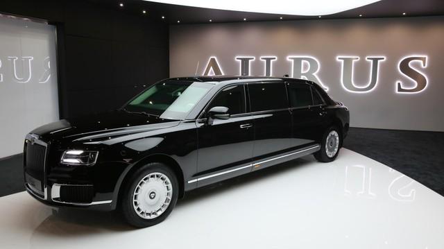 Aurus - Thương hiệu chế tạo limousine cho tổng thống Nga ra mắt trời Âu, Rolls-Royce hay Bentley cũng phải dè chừng