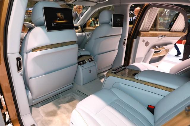 Aurus - Thương hiệu chế tạo limousine cho tổng thống Nga ra mắt trời Âu, Rolls-Royce hay Bentley cũng phải dè chừng - Ảnh 11.