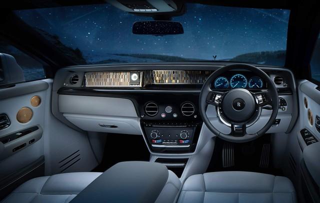 Rolls-Royce Phantom Tranquillity: Đỉnh cao bầu trời sao cho đại gia thích tĩnh lặng - Ảnh 7.