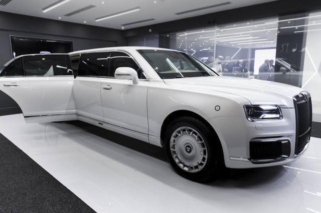 Aurus - Thương hiệu chế tạo limousine cho tổng thống Nga ra mắt trời Âu, Rolls-Royce hay Bentley cũng phải dè chừng - Ảnh 1.