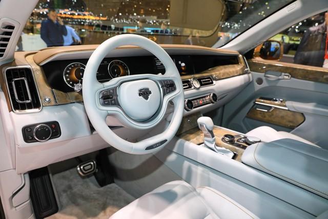 Aurus - Thương hiệu chế tạo limousine cho tổng thống Nga ra mắt trời Âu, Rolls-Royce hay Bentley cũng phải dè chừng - Ảnh 7.