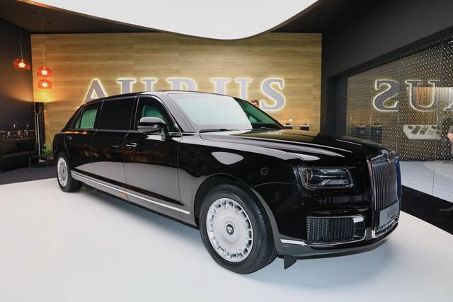Aurus - Thương hiệu chế tạo limousine cho tổng thống Nga ra mắt trời Âu, Rolls-Royce hay Bentley cũng phải dè chừng - Ảnh 4.