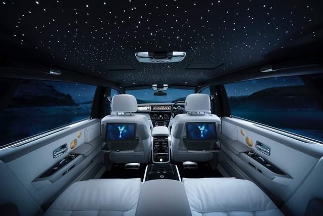 Rolls-Royce Phantom Tranquillity: Đỉnh cao bầu trời sao cho đại gia thích tĩnh lặng - Ảnh 5.