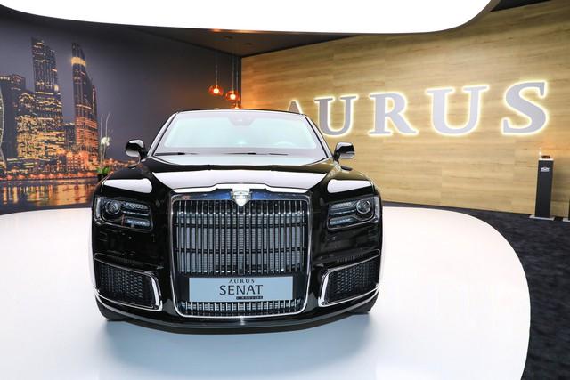 Aurus - Thương hiệu chế tạo limousine cho tổng thống Nga ra mắt trời Âu, Rolls-Royce hay Bentley cũng phải dè chừng - Ảnh 2.