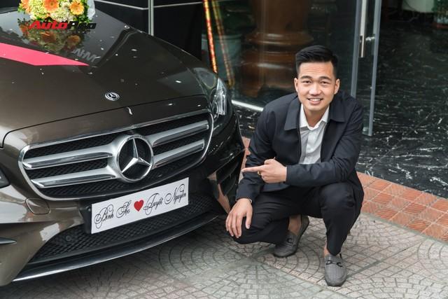 Soái ca Bắc Ninh chi 2,5 tỷ đồng mua Mercedes-Benz E300 AMG tặng vợ nhân ngày 8/3 - Ảnh 2.