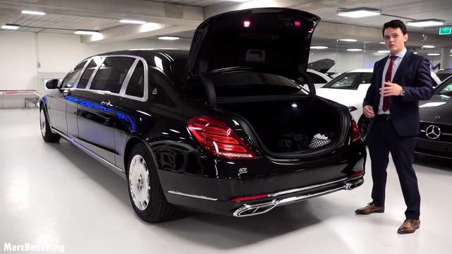 Mổ xẻ từng centimet xe chống đạn Mercedes-Maybach S600 Pullman Guard được nhiều nguyên thủ sử dụng - Ảnh 4.