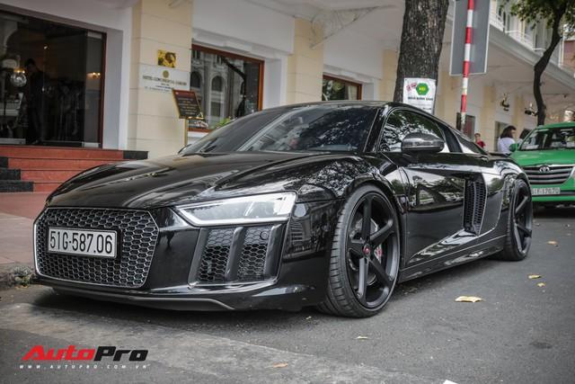 Cường Đô La đổi màu Audi R8 V10 Plus, tuy nhiên đây mới là điểm đáng chú ý - Ảnh 6.