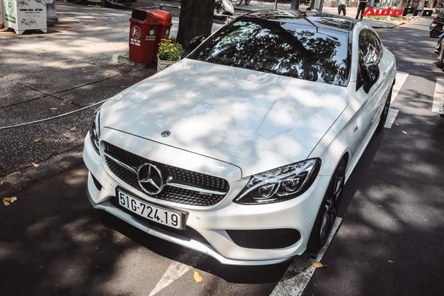 Bắt gặp Mercedes-AMG C43 4Matic giá hơn 4 tỷ đồng của dân chơi Sài Thành - Ảnh 1.