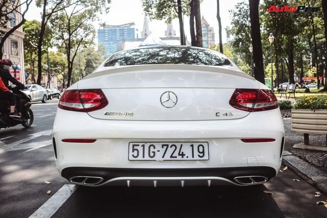 Bắt gặp Mercedes-AMG C43 4Matic giá hơn 4 tỷ đồng của dân chơi Sài Thành - Ảnh 5.