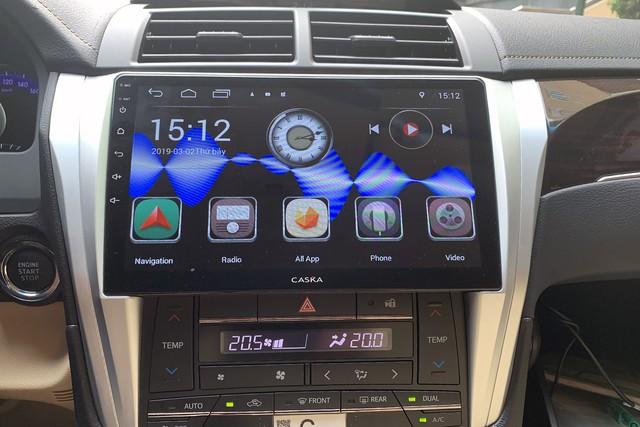 Caska tấn công thị trường ô tô Việt Nam với màn hình Android tầm trung tích hợp nhiều 'đồ chơi' - Ảnh 2.