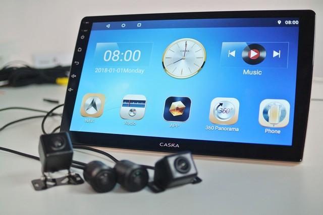 Caska tấn công thị trường ô tô Việt Nam với màn hình Android tầm trung tích hợp nhiều 'đồ chơi' - Ảnh 1.