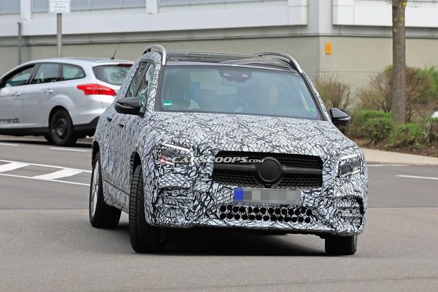 Vuông như G-Class như đang là xu thế, Mercedes-Benz GLB tung teaser mới cho thấy điều đó - Ảnh 4.