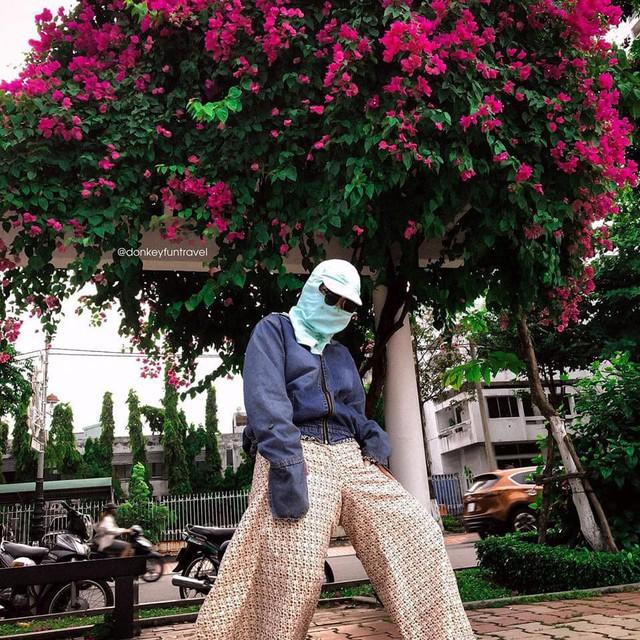 Ninja không xe tay ga: Vẫn cứ ngầu vì phong cách chụp ảnh check-in không đụng hàng - Ảnh 4.