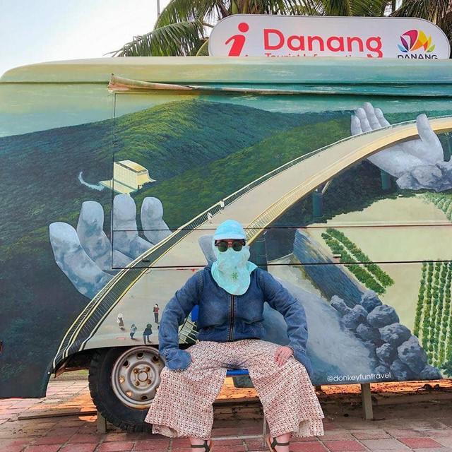 Ninja không xe tay ga: Vẫn cứ ngầu vì phong cách chụp ảnh check-in không đụng hàng - Ảnh 5.