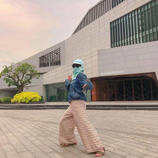 Ninja không xe tay ga: Vẫn cứ ngầu vì phong cách chụp ảnh check-in không đụng hàng - Ảnh 6.