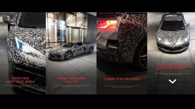 Chevrolet C8 Corvette bất ngờ lộ diện, chốt ngày ra mắt - Ảnh 2.
