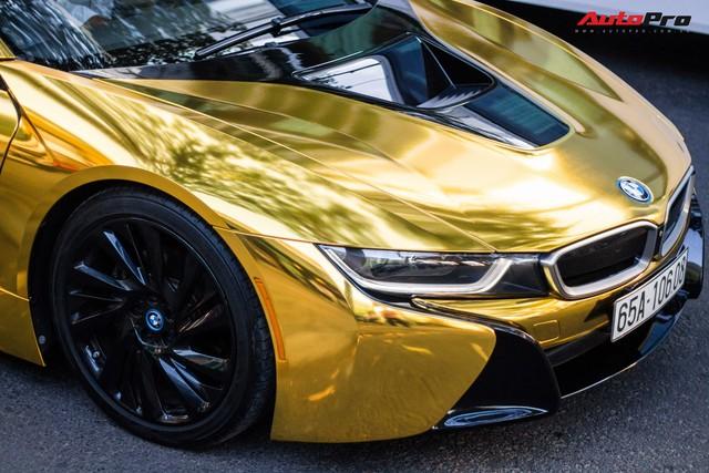 Dân chơi Sài Gòn mang BMW i8 đi đổi diện mạo phong cách nhà giàu Dubai - Ảnh 7.