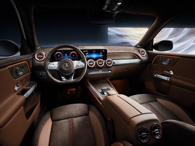 Mercedes-Benz chính thức trình làng GLB: SUV vuông vắn giống GLK, trang bị AWD, đủ rộng cho 7 người - Ảnh 5.