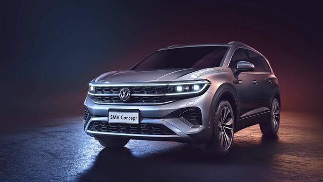 Volkswagen trình làng 4 SUV mới cùng một lúc: Có mẫu to lớn hơn cả Touareg sắp bán tại Việt Nam - Ảnh 1.