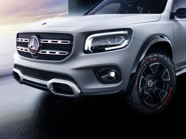 Mercedes-Benz chính thức trình làng GLB: SUV vuông vắn giống GLK, trang bị AWD, đủ rộng cho 7 người - Ảnh 11.