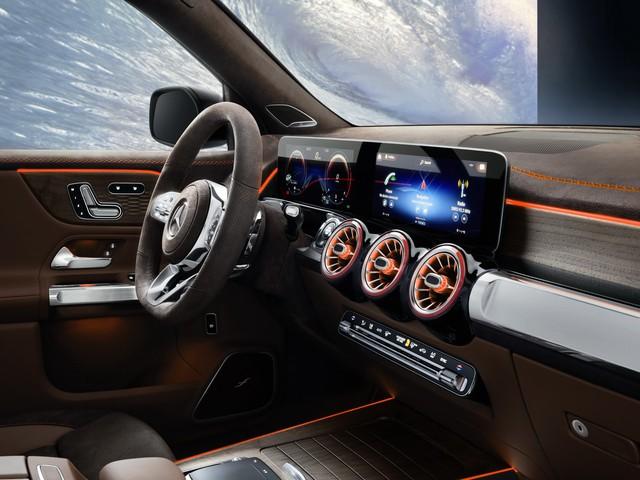 Mercedes-Benz chính thức trình làng GLB: SUV vuông vắn giống GLK, trang bị AWD, đủ rộng cho 7 người - Ảnh 7.