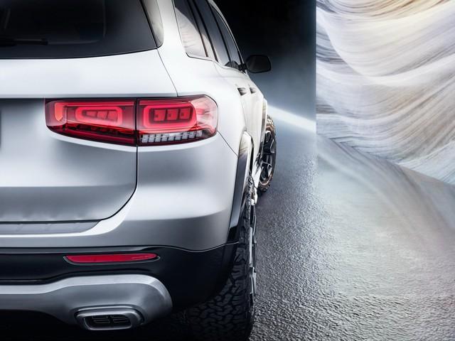 Mercedes-Benz chính thức trình làng GLB: SUV vuông vắn giống GLK, trang bị AWD, đủ rộng cho 7 người - Ảnh 12.